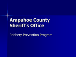 Arapahoe County Sheriff's Office
