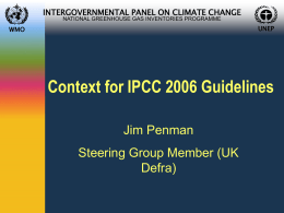 IPCC 2006 Guidelines for National Greenhouse Gas Inventories