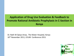 Application of drug use evaluation & feedback to promote