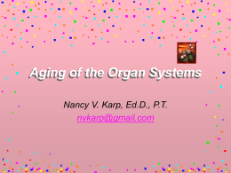 Aging and Organ Systems - UNIMORE