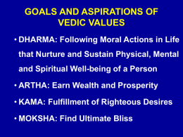 FORWARD WITH VEDAS HOW?