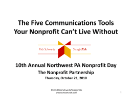 How to Talk to Everyone Who Matters to Your Nonprofit A