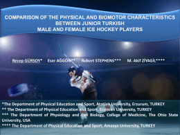 COMPARISON OF THE PHYSICAL AND BIOMOTOR …