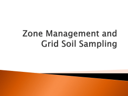 Soil Testing and Field Variablity