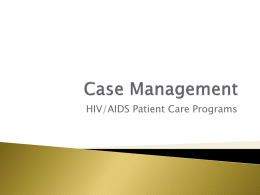 Case Management - TrustedPartner