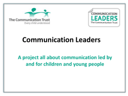 Communication Leaders