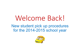 Welcome Back! - G-PISD