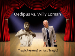 Oedipus vs. Willy Loman