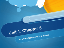 Unit 1, Chapter 3 - Kentucky Department of Education