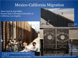 Localized Immigration Policy and Migrant Life Experiences