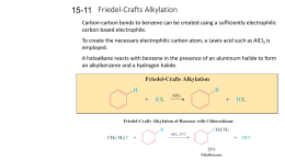 Friedel-Crafts Alkylation