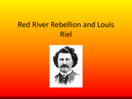 Red River Rebellion - HDSB School Board: Home
