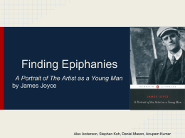 Finding Epiphanies - English 12