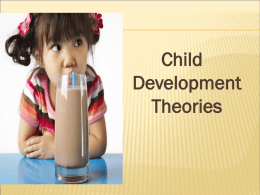 Child Development Theorists PowerPoint
