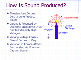 How Is Sound Produced?