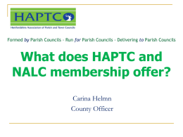 What does SCAPTC do for its member councils