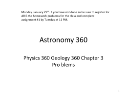 Astronomy 360 - indstate.edu