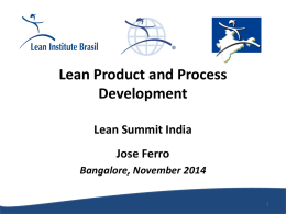 Lean Summit India