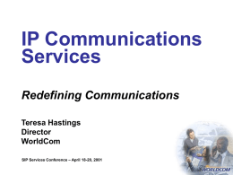 IP Communications Services-Redefining communications