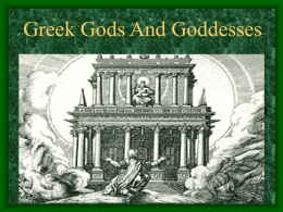 Greek Gods And Goddesses