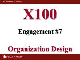 X100 Lecture 5 October 1, 2002 Management, Leadership