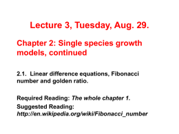 Lecture 2, Thursday, Aug. 24.