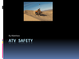 ATV Safety - Salmon River High School