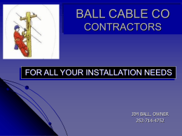 BALL CABLE CO CONTRACTORS