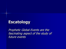 Escatology