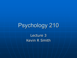 Psychology 250 - Rio Hondo College