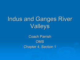 Indus and Ganges River Valleys - Oxford School District / Home