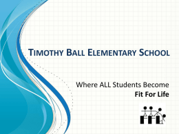 Timothy Ball Elementary School