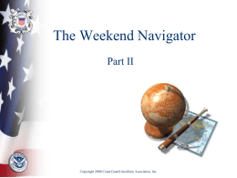 Chapter 15: Navigating with Radar