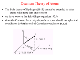 Quantum Theory of Atoms