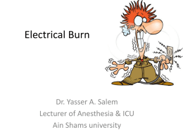 Electrical Burn