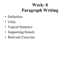 Week: 8 Paragraph Writing - Only Programmerz (Best Spot