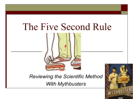The Five Second Rule - Chandler Unified School District