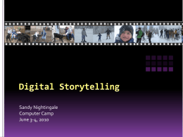 Digital Storytelling - White Lake School District