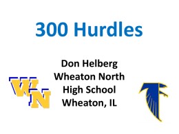 300 Hurdles - NM Track & Cross Country Coaches Association