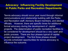 Parks, Recreation and Cultural Resources
