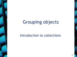 Objects First With Java - Chapter 4