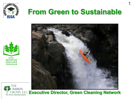 Going Green - Packer Valley Chapter