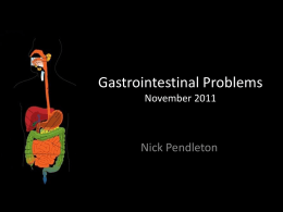 Gastrointestinal Problems in Primary Care