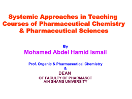الشريحة 1 - Systematic Approach to Teaching
