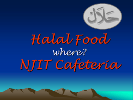 Halal Food where? NJIT Cafeteria