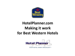 Client Demo - Best Western Mountain View Inn