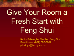 Feng Shui - Ithaca College