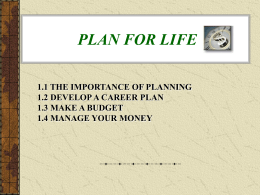 Chapter 19 Savings and Investment Strategies