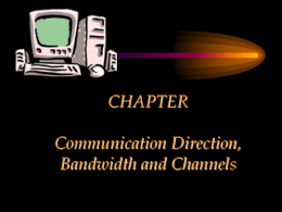 CHAPTER Frequency Spectrum and Bandwidth