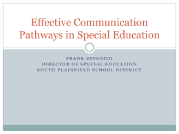 Effective Communication Pathways in Special Education
